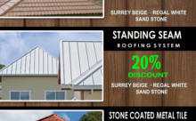 ROOFING SPECIAL FOR THE MONTH OF OCTOBER 2016!!