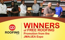 Winners of Roofing Promotion